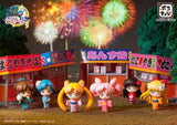 Sailor Moon: Let's Go to Festival Petit Chara! Set of 6 Figures -DISPLAYED-