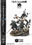 Nier Automata: 2B, 9S, and A2 Group Deluxe 1/4 Scale Masterline Figure