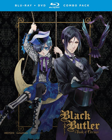 Black Butler Book of Circus Blu-ray/DVD Combo Complete Collection