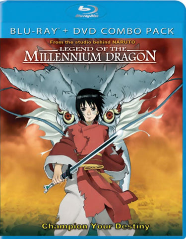 Legend of the Millenium Dragon BRD/DVD Combo