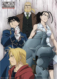 Fullmetal Alchemist Brotherhood: Human Sacrifice Group Fabric Poster