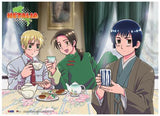 Hetalia: Tea Time Fabric Poster