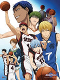 Kuroko's Basketball: Group Blue Fabric Poster