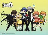 Persona Q: Group Lineup Fabric Poster