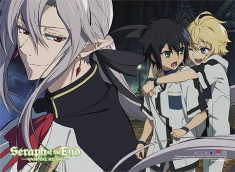 Seraph of the End: Group Children Fabric Poster