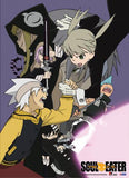 Soul Eater: Maka & Soul Team Up Fabric Poster