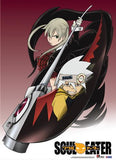 Soul Eater: Maka & Soul Ready Fabric Poster
