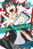 Real Account: Volume 3 (Manga)