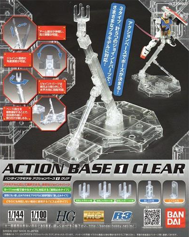 Gundam: Action Base 1 Clear