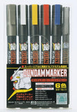 GMS-105 Gundam Basic Marker Set of 6 Colours