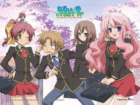 Baka & Test: Group Wall Scroll