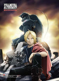 Fullmetal Alchemist Brotherhood: Key Art High End Wall Scroll