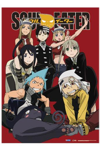 Soul Eater: Group Red Pose Wall Scroll