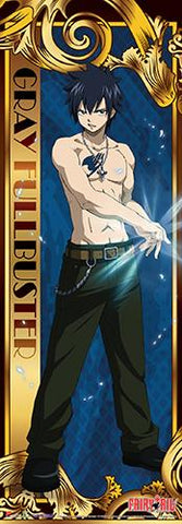 Fairy Tail: Gray Human Sized Wall Scroll - Displayed-