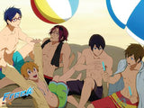 Free!: Group Beach Wall Scroll