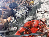 Attack on Titan: Group vs. Colossal Titan Wall Scroll