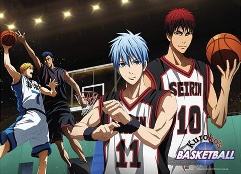 Kuroko's Basketball: Group Court Special Edition Wall Scroll