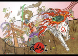 Okami: Group Wall Scroll