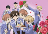 Ouran High School Host Club: Sweet Servings Wall Scroll