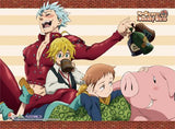 Seven Deadly Sins: Ban, Meliodas, King & Hawk Drinking Wall Scroll