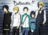 Durarara!!: Group Line-up Wall Scroll