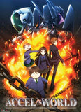 Accel World: Key Art Group Explosion Wall Scroll