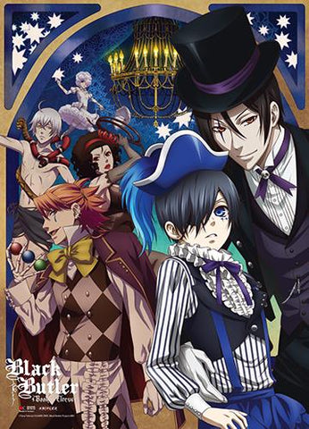 Black Butler Book of Circus: Key Art Wall Scroll