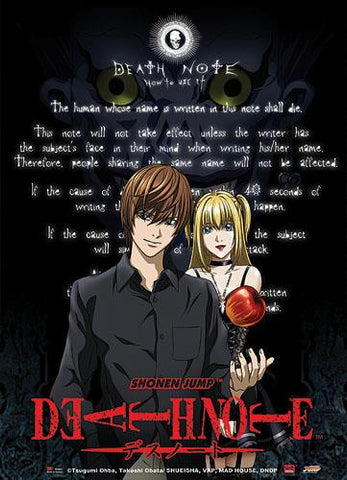 Death Note: Kira & Rules Wall Scroll