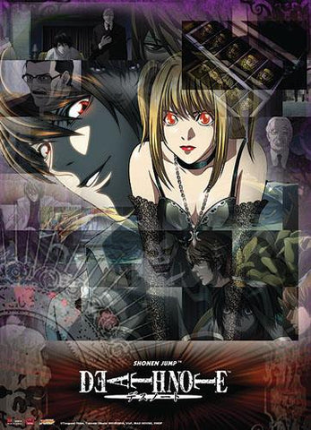 Death Note: Light & Misa Collage Wall Scroll