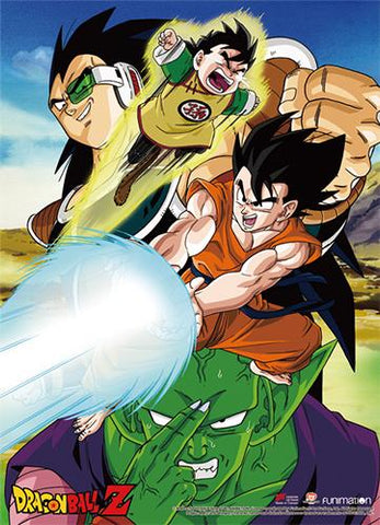 Dragon Ball Z: Raditz Arrives Wall Scroll