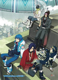 DRAMAtical Murder: Group Wall Scroll