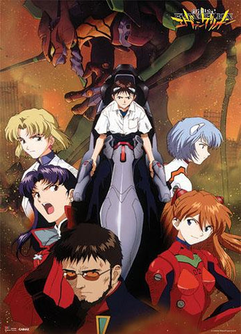 Evangelion: Entry Plug & Group Wall Scroll
