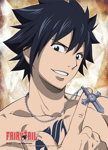 Fairy Tail: Gray & Necklace Wall Scroll