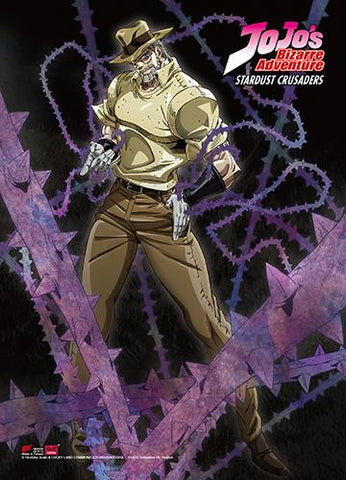 Jojo's Bizarre Adventure: Joseph Wall Scroll