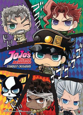 Jojo's Bizarre Adventure: Group SD Wall Scroll