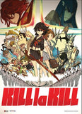 KILL la KILL: Group Wall Scroll