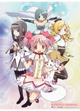 Madoka Magica: Group Wall Scroll