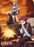 Naruto: Gaara & Siblings Wall Scroll