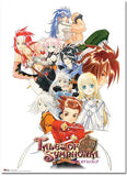Tales of Symphonia: Key Art Wall Scroll