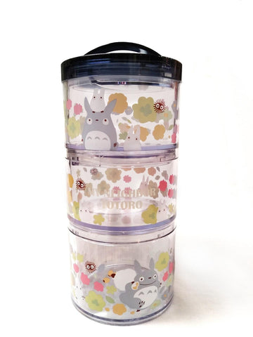 My Neighbour Totoro: Totoro Stacking Cylinders Bento Set