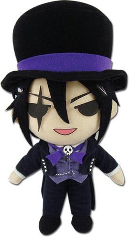 "Black Butler: Book of Circus Sebastian (Black) 8"" Plush"