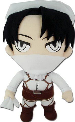 "Attack on Titan: Cleaning Levi 8"" Plush"