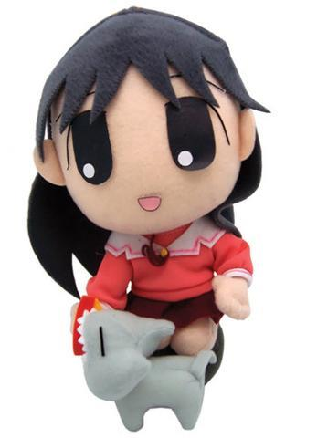 "Azumanga Daioh: Sakaki and Cat 8"" Plush"