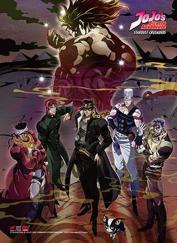 Jojo's Bizarre Adventure: Stardust Crusaders Hi End Wall Scroll