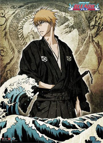Bleach: Ichigo Ukiyo-e Style Wall Scroll