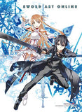 Sword Art Online: Asuna & Kirito Scattered Swords Hi-End Wall Scroll