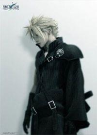Final Fantasy VII: Advent Children Cloud Strife ver. 1 Wall Scroll