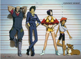 Cowboy Bebop: Team Line-Up Wall Scroll