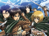 Attack on Titan: Eren, Mikasa, Armin & Levi Wall Scroll