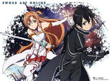 Sword Art Online: Kirito & Asuna Burst Wall Scroll